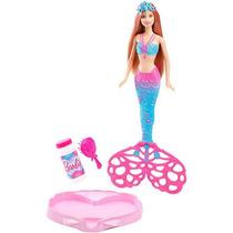 Barbie Sirena Burbujas Mágicas Mattel Cff49