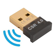 Mini Adaptador Usb  Bluetooth 4.0 Transmisor Receptor Pc