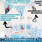 Kit Imprimible Frozen Oferta!!! Barato Creativo Original!