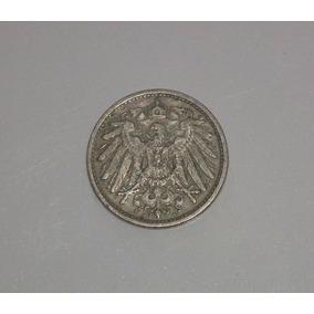 Moeda Antiga Alemã De 1907 10 Pfennig