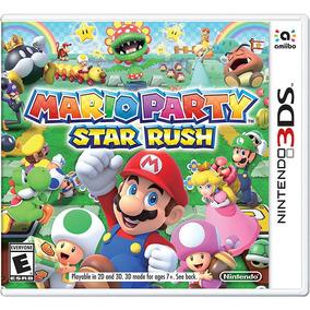 Jogo Mario Party Star Rush - 3ds