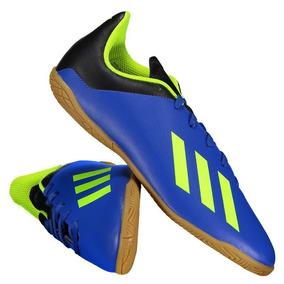 9120f4bfd0 Chuteira Infantil 30 Velcro Adidas - Chuteiras Azul no Mercado Livre ...