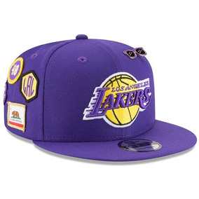 Los Angeles Lakers New Era Purple 2018 Draft Snapback Fitted 5e43c2672c5