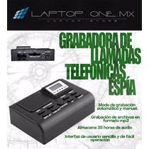 Grabadora De Llamadas Telefonicas Espia