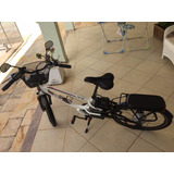 Belíssima Bicicleta Elétrica Dafra Vex Vl Aro 26 Só Df
