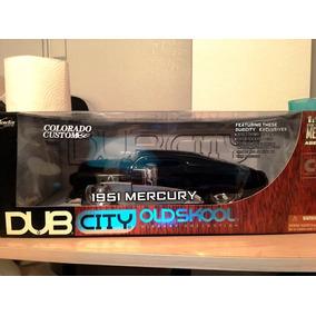 1951 Mercury Custom Black Coupe Old Skool 1:18 Jada Dub City