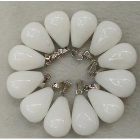 Dije Opalite Blanco Joyería Moda Trendy