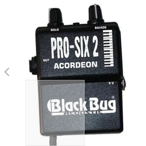 Captador Acordeon Black Bug Pro-six Pss-2 C/ Mic Sennheiser