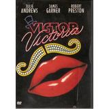 Dvd Victor Victoria- Julie Andrews / Digipack - Semi Novo***