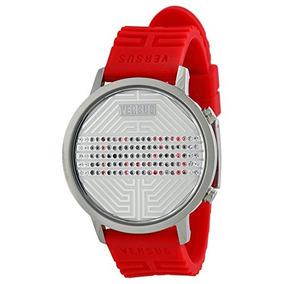 Reloj Versus By Versace 3c70900000 Rojo / Plata