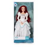 Boneca Disney Ariel Noiva Pequena Sereia Casamento Original