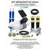 Kit Suspension Neumatica 10mm Tebao Inteligente Con Blockv3!