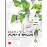 Elementos De Administración.-koontz