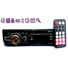 Auto Radio Mp3 Player Som Automotivo Usb Sd Toca Fm 4209