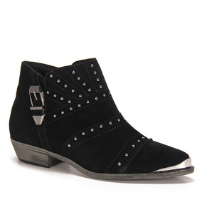 Ankle Boots Feminina Moleca - Preto