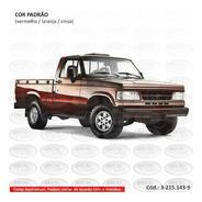 Faixa Auto Adesiva D20 1996 Conquest - Cabine Simples
