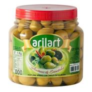 Aceitunas Verdes Naturales Premium N000 X 1 Kg - Arilart