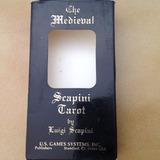Antiguo Mazo Cartas Tarot Medieval Scapini Incompleto Usgame