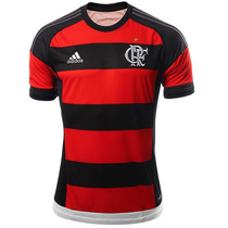 Playera Jersey Local Cr Flamengo 15/16 Hombre Adidas S12957
