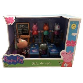 Brinquedo Playset Sala De Aula Escola Da Peppa Pig - Dtc