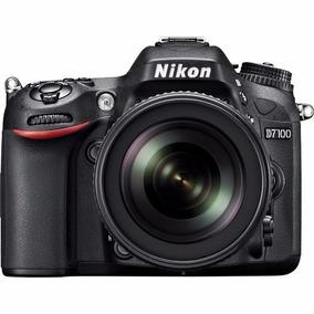 Câmera Nikon Dslr D7100 Com Lente 18-105mm Nova 12x S/juros