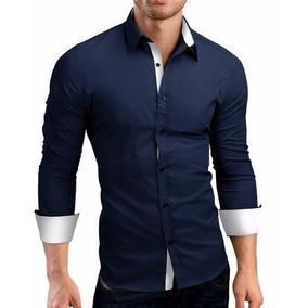 Camisa Social Masculina - Slim Lançamento Pronta Entrega
