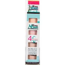 Caja De Maquillaje Para Uñas 4 Pz Mc Nails