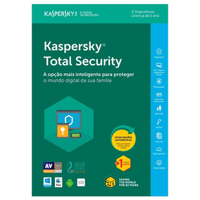 Kaspersky Total Security - 3 Disp. + 1