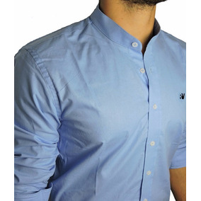 Camisa Manga Longa (gola Padre) - Marca Royal Vegas