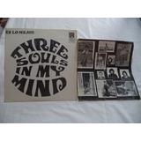 Three Souls Es Lo Mejor 1977 Lp Con Poster Rock Mexicano
