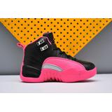 Tênis Nike Air Jordan 12 Rosa/preto Novo Original