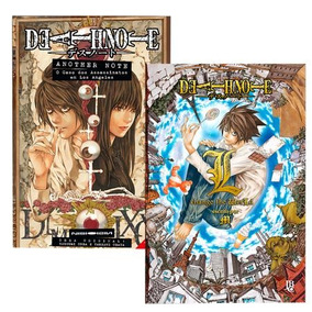Kit Death Note - Livros Anoher Note + L Chance