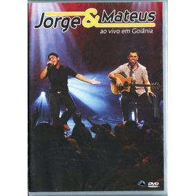 Dvd Jorge E Mateus 2007 - Ao Vivo Em Goiânia ( Lacrado )