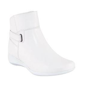 Zapato Bota Confort Doctora Enfermera Dentista Dama Piel