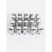 16 Tuercas 12x1.5 Cromadas Chevrolet Aveo Beat Spark Mazda
