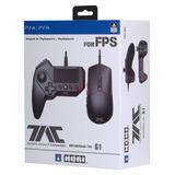 Hori Tac Grip Nuevo Ps4 Ps3 Mouse Y Teclado Joystick
