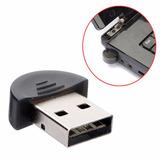 Mini Adaptador Bluetooth Usb Dongle 2.0 Receptor Celular