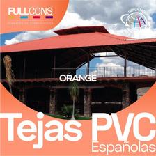 Tejas Pvc Tipo Española Con Protección Uv