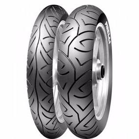 Par Pneu Pirelli Sport Demon 100 80 17 + 130 70 17 Fazer 250