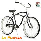 Bicicleta Retro Vintage Clasica Urbana 26 Playera Cruiser