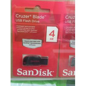 Pendrive 4gb Sandisk Cruzer Blade Original Oferte Blister
