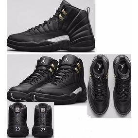 Zapatillas Jordan Retro 12 Gold And Black