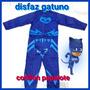 Disfraz Heroes En Pijamas Pj Masks Catboy Gekko Owlette