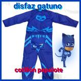 Disfraz Catboy Gatuno Heroes En Pijama Nene Niños Gekko