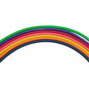 Combo Cable Microfono Colores Balanceado  6mm16mts Hamc