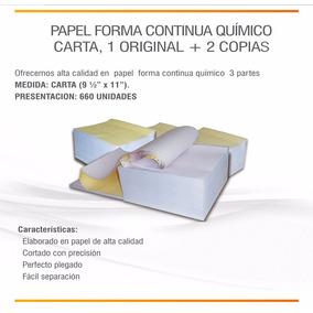 Papel Forma Continua 9 1/2 X 5 1/2 - 2 Partes