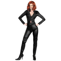 Disfraz Lujo Black Widow Viuda Negra Mujer Traje Avengers