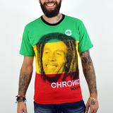 Camiseta Chronic Bob Marley Reggae Roots Original
