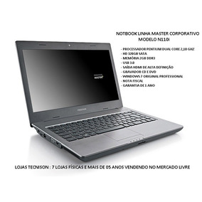 Notbook Positivo Master N110i 14 Intel 320gb 2gb(reembalado)