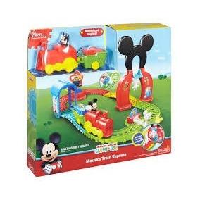 Locomotiva Mickey Mouse Club House Mickey Trem Dnp49 - Matte